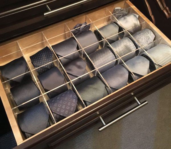 Cubby Grid tie drawer organizer